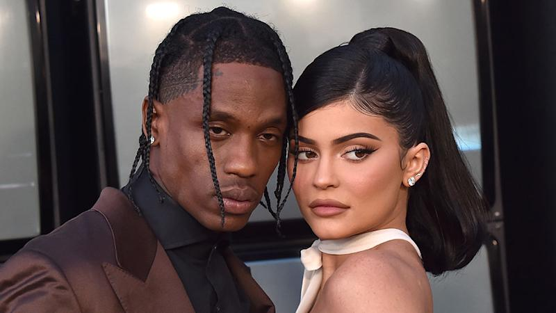 Kylie Jenner & Travis Scott Were 'Flirty' at Thanksgiving With Stormi—Are They Back Together?