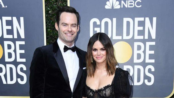 PHOTO: Bill Hader and Rachel Bilson attend the 77th Annual Golden Globe Awards at The Beverly Hilton Hotel on Jan. 05, 2020, in Beverly Hills, Calif. (Jon Kopaloff/Getty Images)