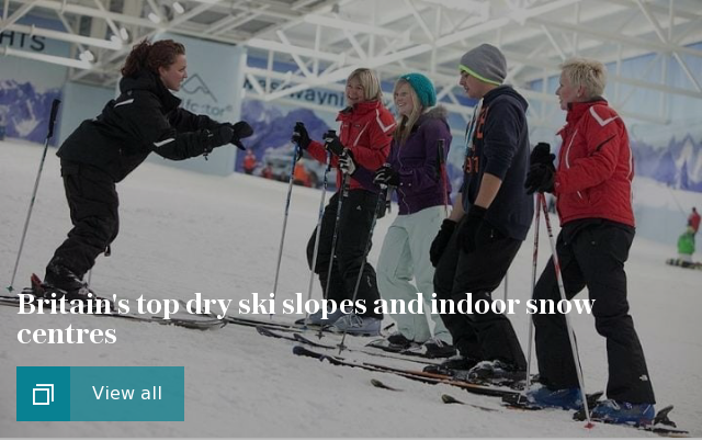 Britain's top indoor slopes