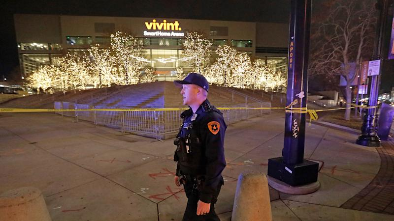 Package that caused Warriors, Jazz to evacuate arena was false alarm