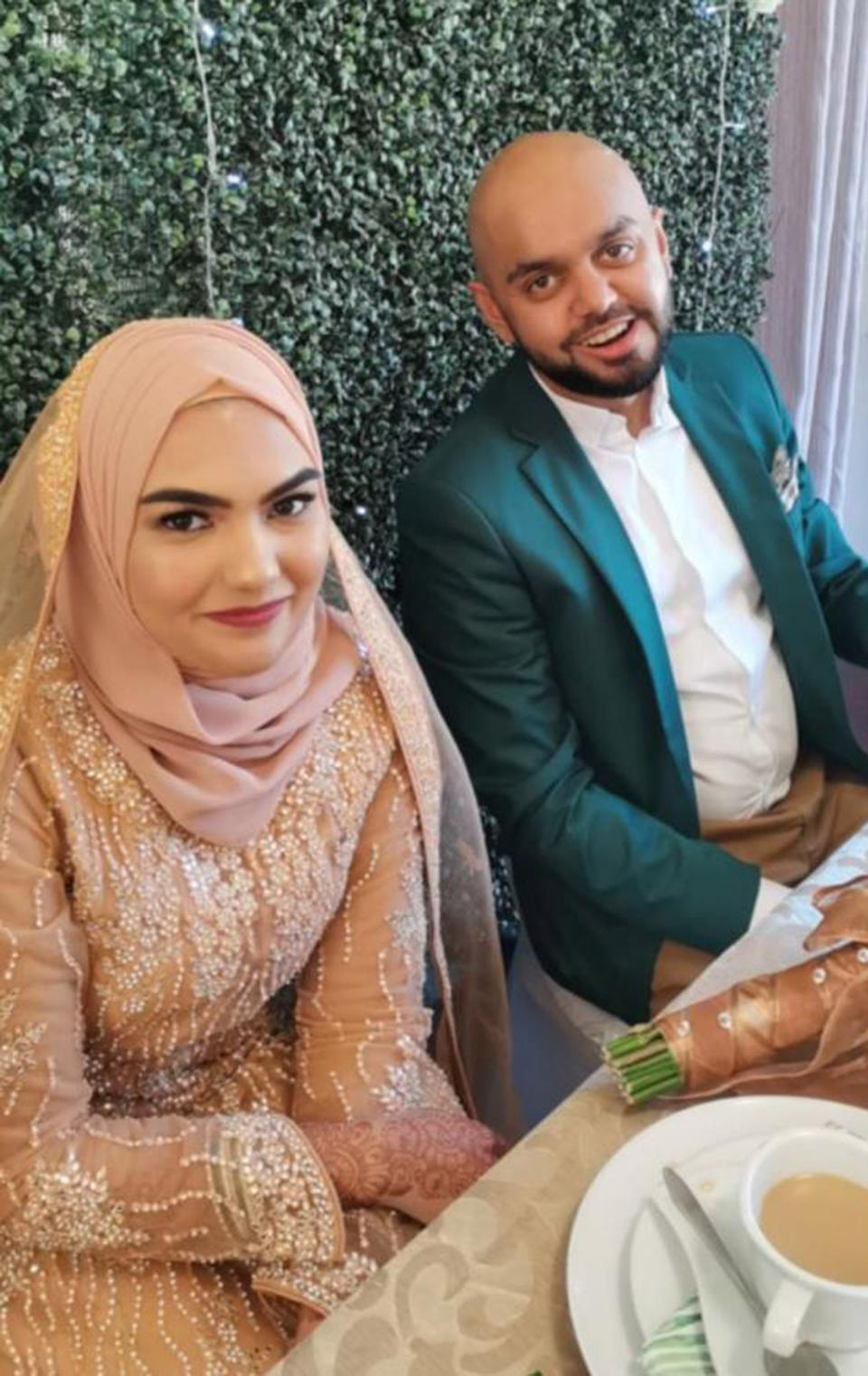 Zaheer Sarang and Nabeelah Khan were found dead in the shower. Source: Newsflash/Australscope