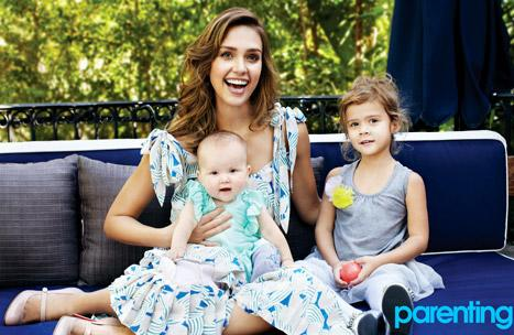 Jessica Alba Shares Magazine Cover With Daughters Honor and Haven!