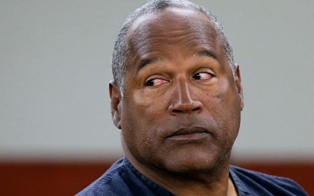 "An interview in which OJ Simpson suggests an accomplice was involved in the murder of his ex-wife is to air on a US network next week. During the interview the former sports star Simpson, who was acquitted of the 1994 murders of his former wife Nicole Brown Simpson and her friend Ron Goldman, discusses how he would hypothetically have committed the murders. The interview was conducted in 2006 but never released due to public outrage as it centred on Simpson's controversial book, If I Did It: Confessions of a Killer in which he theorises about the night of the killings. It has now emerged that during the discussion Simpson suggested he would have used an unnamed accomplice - the first suggestion that the killer may not have acted alone. The pair were found dead outside Ms Brown Simpson's Los Angeles home on June 12 1994 in a pool of blood with multiple stab wounds to their head and necks. Simpson, 70, was charged with both murders but acquitted by a jury in 1995. The sensational case was dubbed the ""trial of the century"" due to international interest in the case and was even televised. Nicole Brown Simpson, the ex wife of former football hero OJ Simpson, was stabbed and mutilated Credit: AP He was later found responsible in a subsequent civil trial and a judge awarded the rights to his book If I Did It to Mr Goldman's family as part of the $38 million wrongful death judgment against Simpson. Following backlash over the 2006 interview, the videotapes were shelved by US television network Fox until they were recently rediscovered. The unseen footage is due to air in a two-hour programme on March 11 in the US. A trailer for the interview asks viewers: ""Does he confess? You be the judge."" ""Simpson's explosive words finally will be heard, as he answers the questions that gripped a nation during the notorious 'Trial of the Century,'"" Fox said in a statement. Photo taken on November 30, 1995 show Simpson looking at a new pair of Aris extra-large gloves that prosecutors had him put on during his double-murder trial in Los Angeles Credit: AFP According to celebrity gossip website TMZ , the footage will show Simpson talk about himself in the third person, before slipping into the first person as he explains how he would have murdered the pair. The former sporting hero, known as 'The Juice' to American football fans, is reported to say during the interview: ""he went to her house the evening of June 12, 1994, to 'scare the s*** out of her'. ""He took the Bronco [Simpson's white van] to her home with his friend, brought a knife and put a hat and gloves on for dramatic effect."" OJ Simpson, Nicole Simpson, Sydney Simpson and Justin Simpson Credit: BEI/BEI/Shutterstock In a clip of the footage released by Fox, Simpson addresses the camera saying: ""I'm going to tell you a story you've never heard before. It takes place the night of June 12 1994 and it concerns the murders of my ex-wife, Nicole Brown Simpson, and her young friend Ronald Goldman. ""Forget everything you think you know about that night, because I know the facts better than anyone. This is one story the whole world got wrong."" Simpson was released from prison in October after serving nine of his 33-year sentence for an armed robbery in Las Vegas in 2007. The two-hour special, ""O.J. Simpson: The Lost Confession?"" will air at 8pm EST on Sunday, March 11."