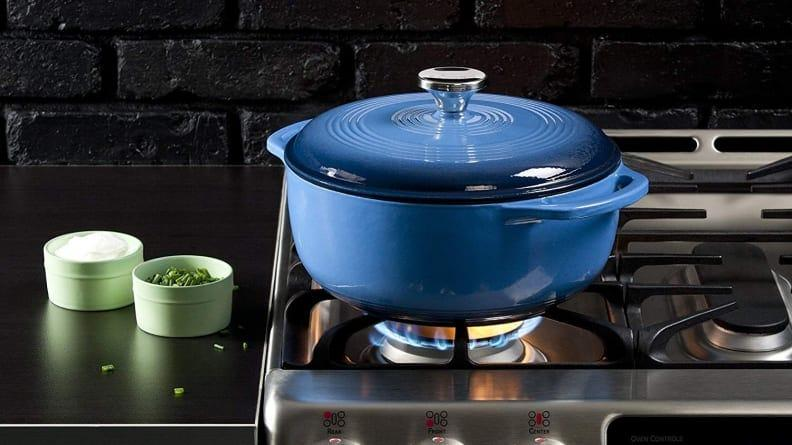 This affordable Dutch oven earned top marks in our testing.