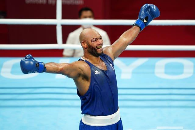Frazer Clarke claimed bronze in the men's super-heavyweight division at Tokyo 2020 (Mike Egerton/PA)
