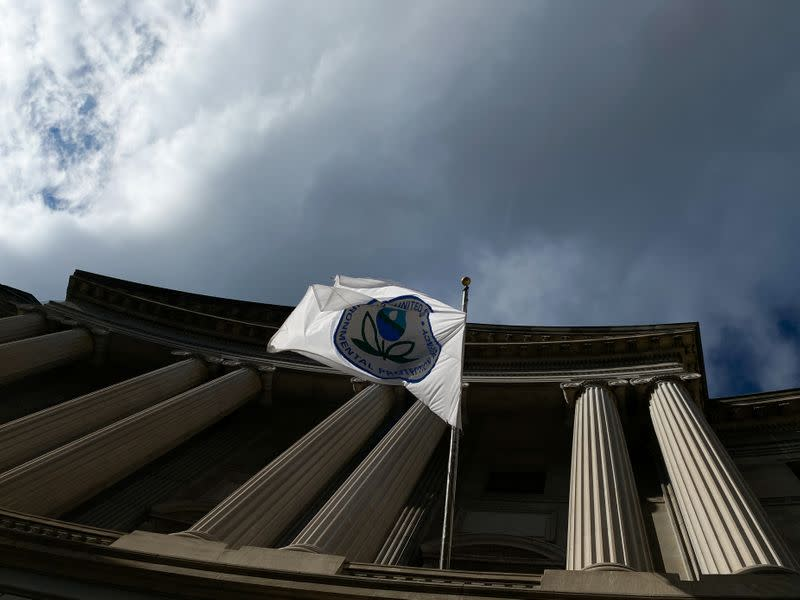 The Environmental Protection Agency headquarters is seen in Washington, D.C.