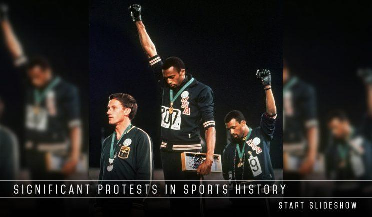 Sports protests embed