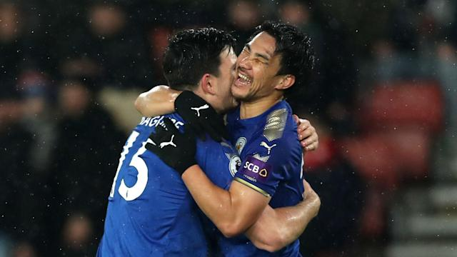 Southampton were handed a painful home loss by former boss Claude Puel, who watched his rampant Leicester City win comfortably on Wednesday.