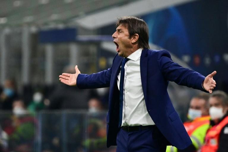 Antonio Conte's Inter Milan are bottom of their Champions League Group B.