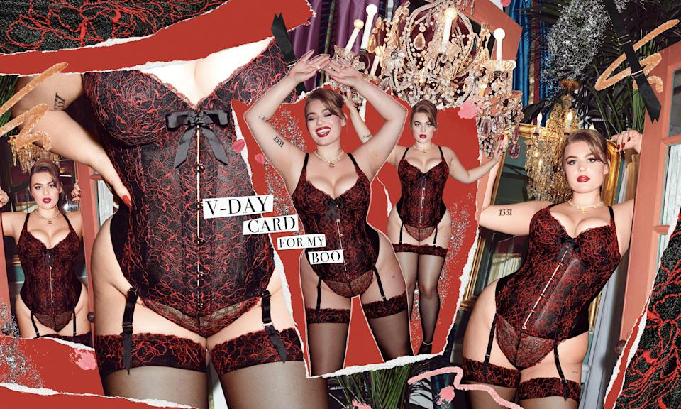"""<br><br><strong>Savage x Fenty</strong> Embroidered Lace Corset, $, available at <a href=""""https://go.skimresources.com/?id=30283X879131&url=https%3A%2F%2Fwww.savagex.com%2Fshop%2Fembroidered-lace-corset-li1935133-1342-11181112%3Fpsrc%3Dbrowse_new"""" rel=""""nofollow noopener"""" target=""""_blank"""" data-ylk=""""slk:Savage x Fenty"""" class=""""link rapid-noclick-resp"""">Savage x Fenty</a>"""
