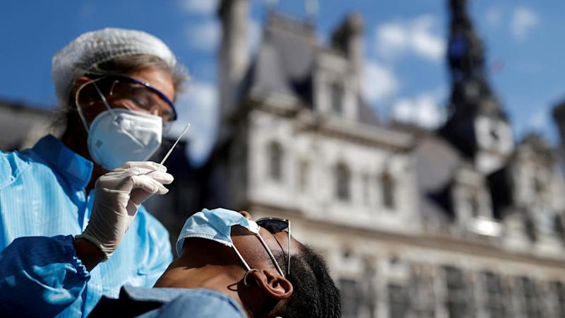 France's Covid-19 intensive care cases rise for 20th day in a row