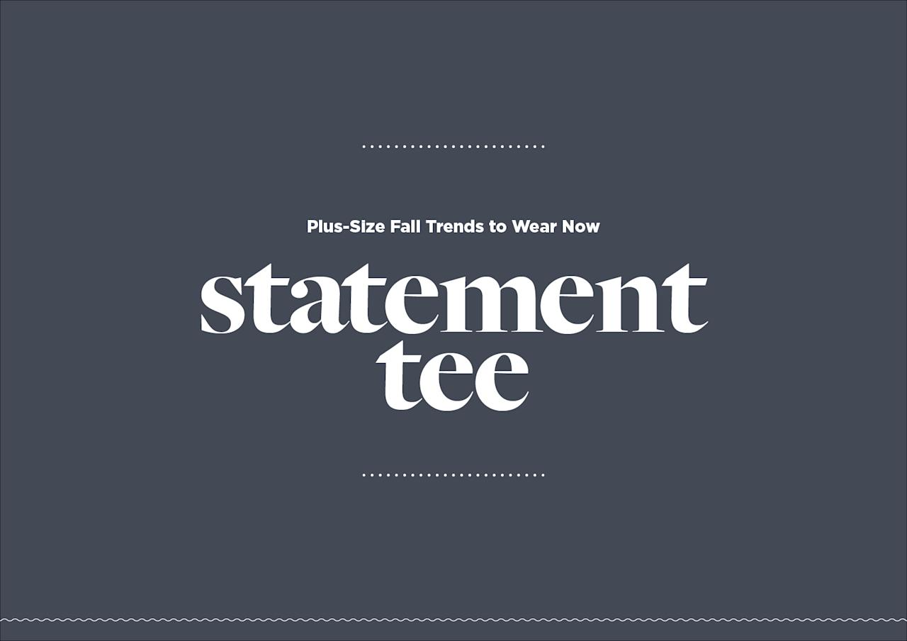 <p>This year it is more relevant than ever to incorporate our political voice through fashion. Try out a slogan shirt with everything from skinny jeans to a skirt and moto combination.<br /><strong>Fall 2017 Runway:</strong> Prabal Gurung, Christian Siriano </p>