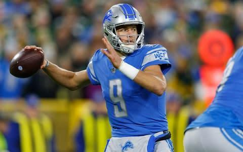 <span>Matthew Stafford is having his best ever season</span> <span>Credit: USA Today </span>
