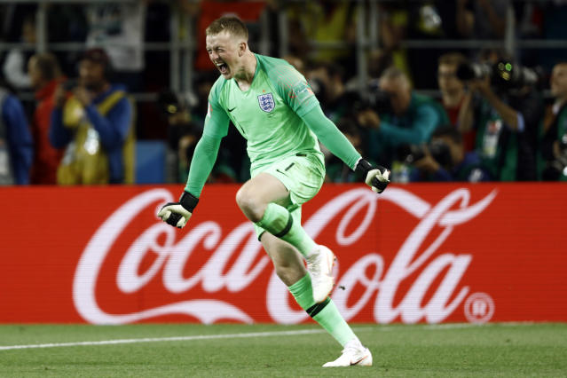 Jordan Pickford is England's No.1, but he has plenty of pressure being applied by a group of keepers behind him