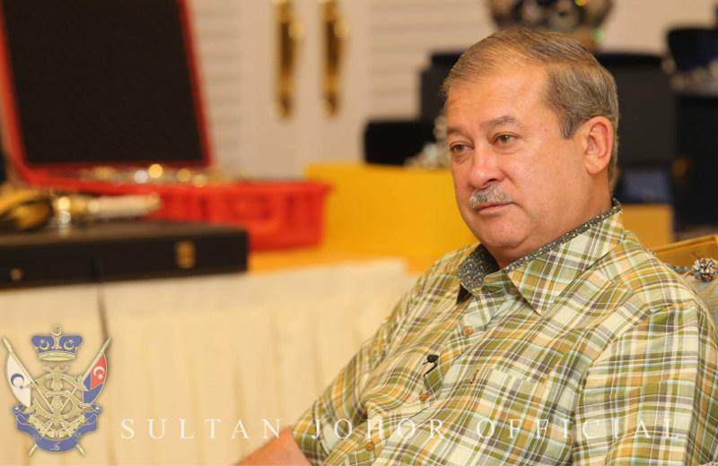 The Johor Sultan expressed his displeasure over a news report that quoted him as telling people to avoid PPBM.