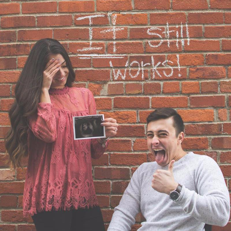 Woman and Her Fiancé - a Paraplegic - Announce Their Unexpected Pregnancy in the BEST Way