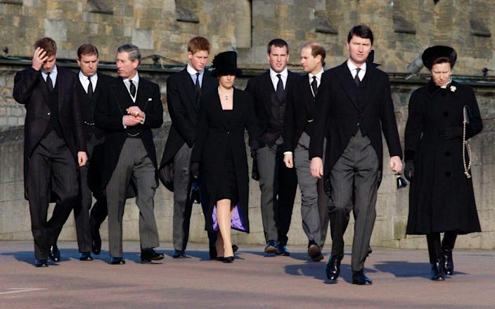 The Royal Family Attending The Funeral Of Princess Margaret - Tim Graham Photo Library/Tim Graham