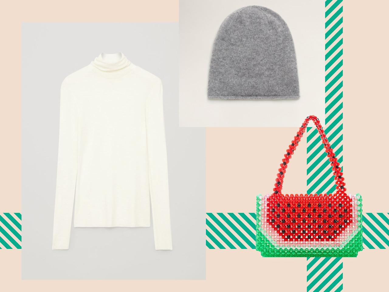 You can't go wrong with these sweaters, purses, and accessories that will heat up her cold-weather style.