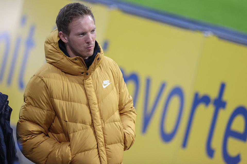 <p>Julian Nagelsmann is in the frame for the Spurs job</p> (POOL/AFP via Getty Images)