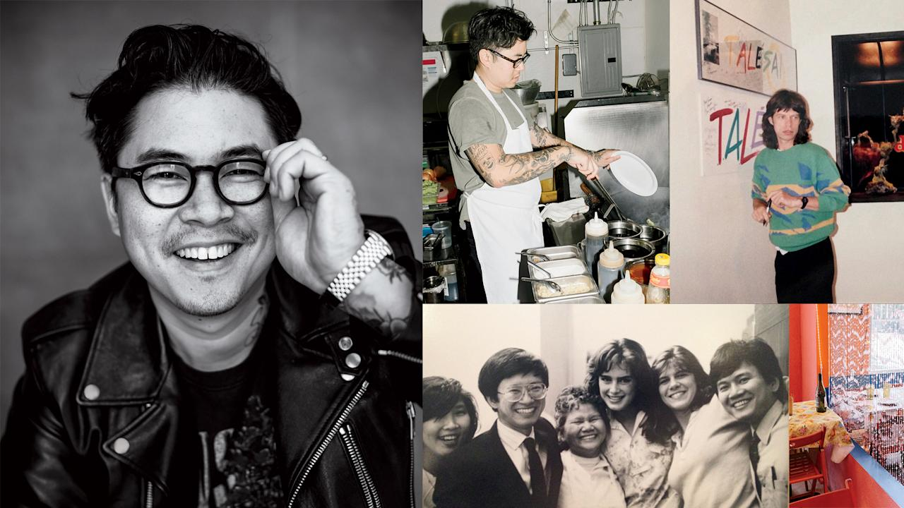 """<p>Los Angeles native <a rel=""""nofollow"""" href=""""http://www.foodandwine.com/blogs/kris-yenbamroong-las-night-market-song-2016-fw-best-new-chef"""">Kris Yenbamroong</a> has turned his bold version of Thai street food into one of the coolest, most vibrant cuisines in the city.</p><a rel=""""nofollow"""" href=""""http://www.foodandwine.com/travel/kris-yenbamroongs-guide-los-angeles"""">Cleansing Juices and Juicy Burgers: Kris Yenbamroong's Guide to Los Angeles</a><a rel=""""nofollow"""" href=""""http://www.foodandwine.com/blogs/new-night-market-sahm-will-have-waterfalls-and-unabashed-asian-fusion-menu"""">The New Night + Market Sahm Will Have Waterfalls and an Unabashed Asian Fusion Menu</a><a rel=""""nofollow"""" href=""""http://www.foodandwine.com/blogs/kris-yenbamroongs-6-essential-thai-condiments"""">Kris Yenbamroong's 6 Essential Thai Condiments</a><a rel=""""nofollow"""" href=""""http://www.foodandwine.com/recipes/bangkok-mall-pasta"""">Bangkok Mall Pasta</a><a rel=""""nofollow"""" href=""""http://www.foodandwine.com/recipes/grilled-sweet-corn-coconut-glaze"""">Grilled Sweet Corn with Coconut Glaze</a><p> </p>"""