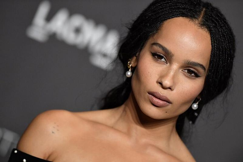 Zoë Kravitz looks like a Disney princess in the first official photos from her wedding