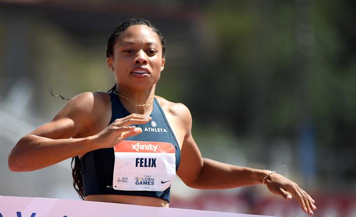 Allyson Felix will try to make her fifth Olympic team at the USA Track and Field trials, which begin this weekend. (Photo by Keith Birmingham/MediaNews Group/Pasadena Star-News via Getty Images)
