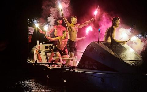 The team rowed from the Canary Islands to Antigua in 32 days - Credit: en Duffy Photography