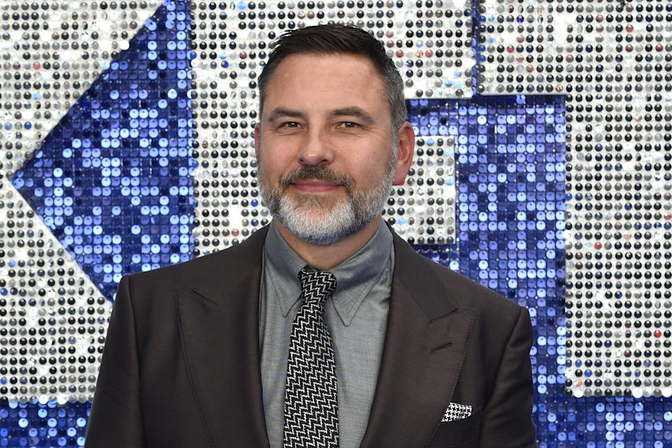 David Walliams seen during the Rocketman UK Premiere at the Odeon Luxe Leicester Square in London. (Photo by James Warren/SOPA Images/LightRocket via Getty Images)