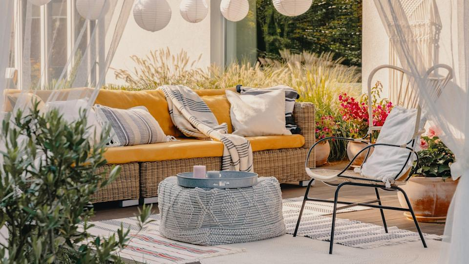 Create your outdoor oasis with these online retailers.
