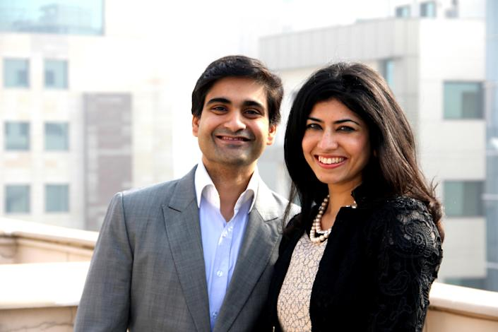 CashKaro co-founders Rohan and Swati Bhargava
