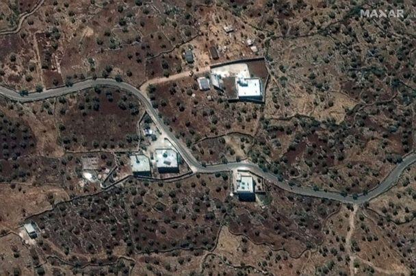 PHOTO: A satellite view of the reported residence of ISIS leader, Abu Bakr al-Baghdadi, collected on September 28, 2019, is shown in this handout image released on October 27, 2019 by Maxar Technologies. (Maxar Technologies/Handout via Reuters)