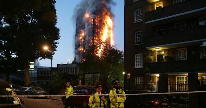incendio Grenfell Tower