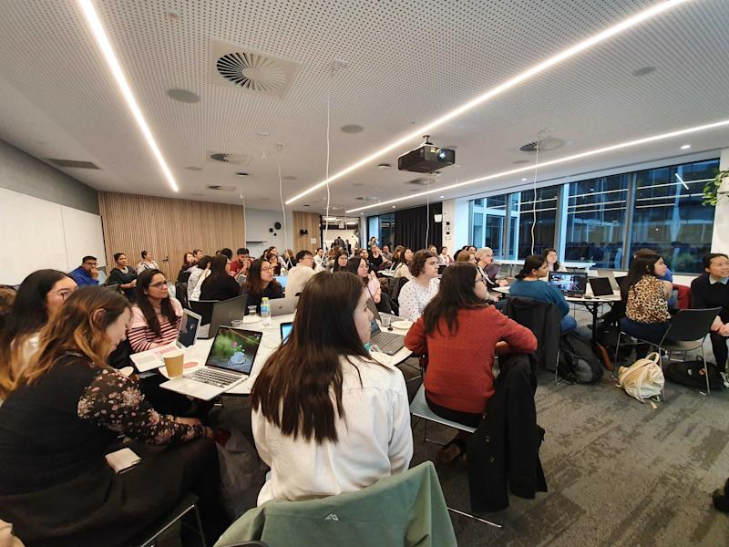 Women Who Code workshops. Source: Supplied