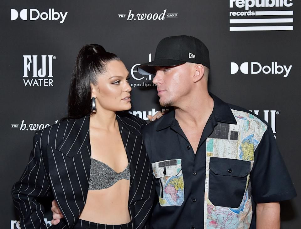 Jessie J and Channing Tatum pictured here together at the Grammy after party in January 2020. (Getty Images)