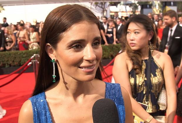 Constance Zimmer & Shiri Appleby Look UnReal On The Emmys Red Carpet!