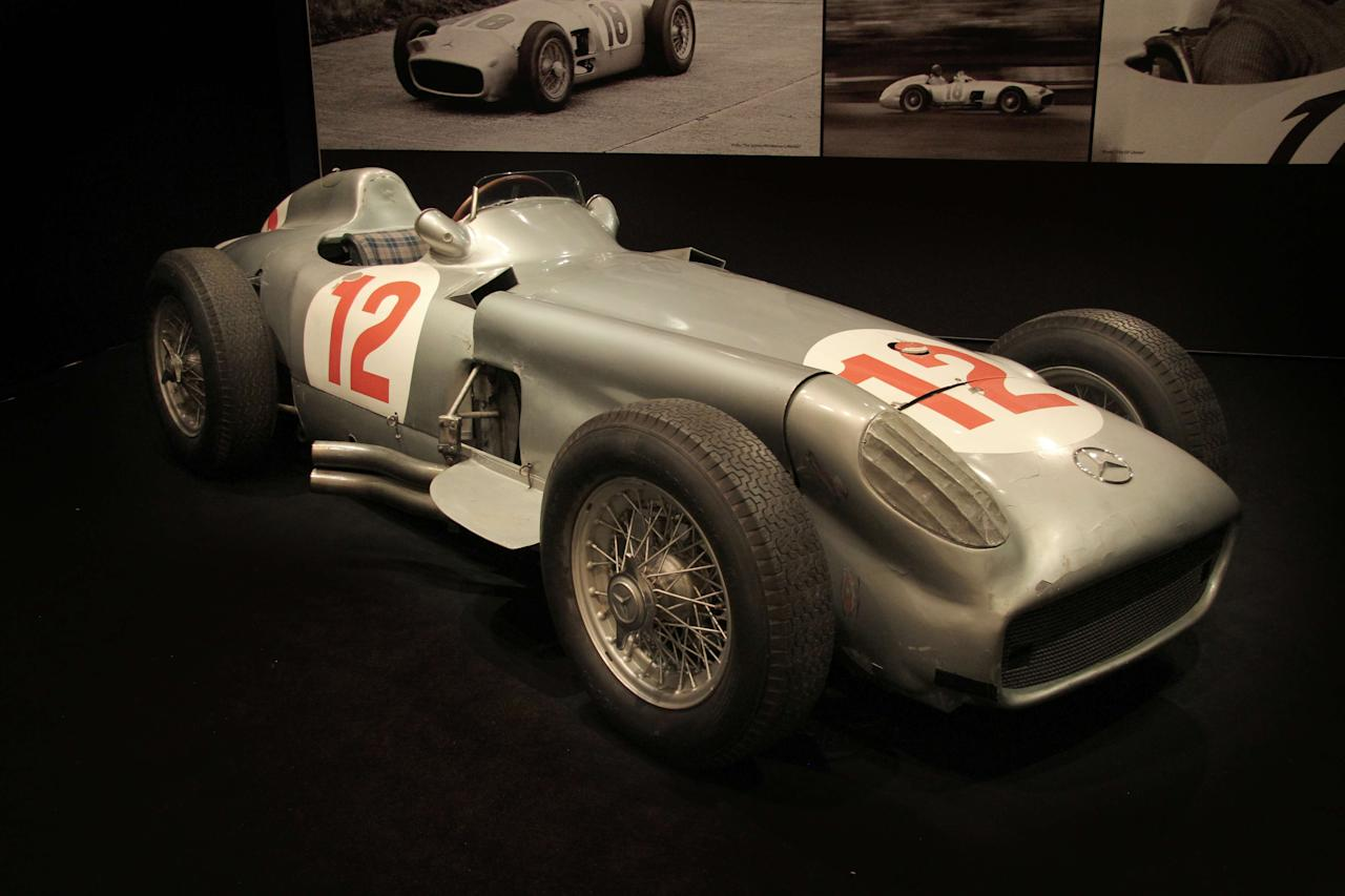 2. 1954 Mercedes-Benz W196R Formula 1 Single-Seater - $29.65 million (€22.7 million)