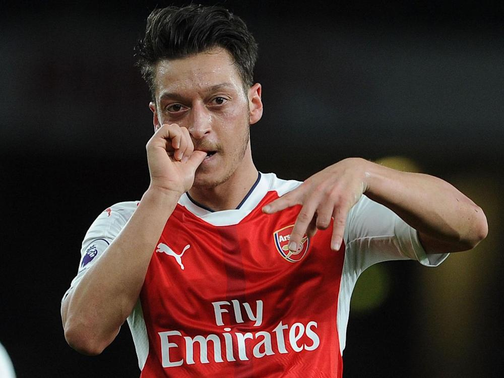 Özil believes Arsenal can still win the Champions League (Getty)