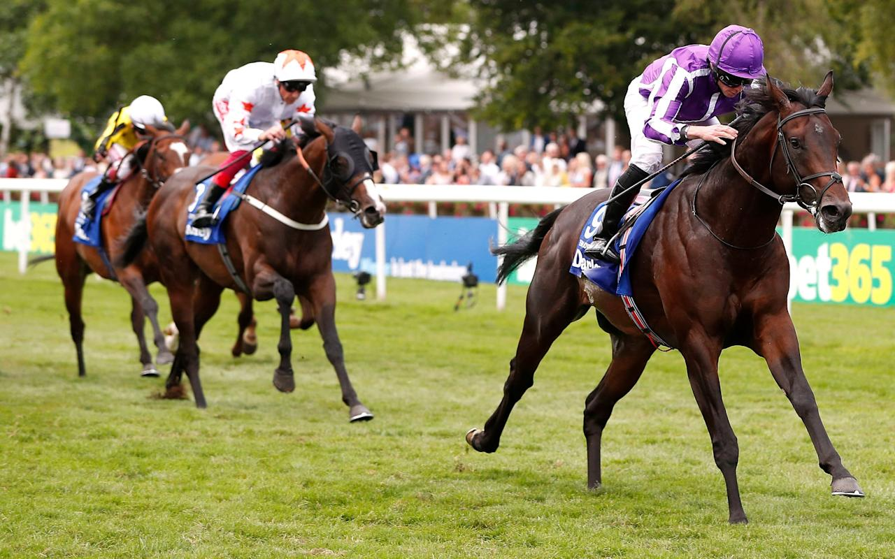 Aidan O'Brien's colt Ten Sovereigns can win at York on Friday - PA Wire