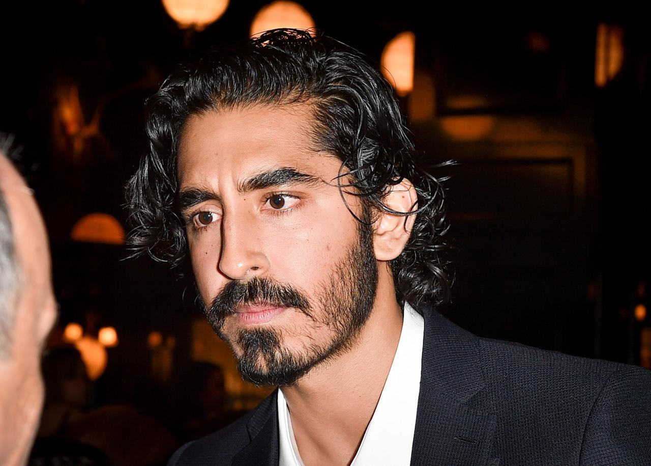 Even when he's wearing black-tie, Dev Patel's hair is always doing a wild and crazy dance. We especially appreciate the high-shine finish of this look. Maybe it's sweat, maybe it's product—either way he looks incredible.