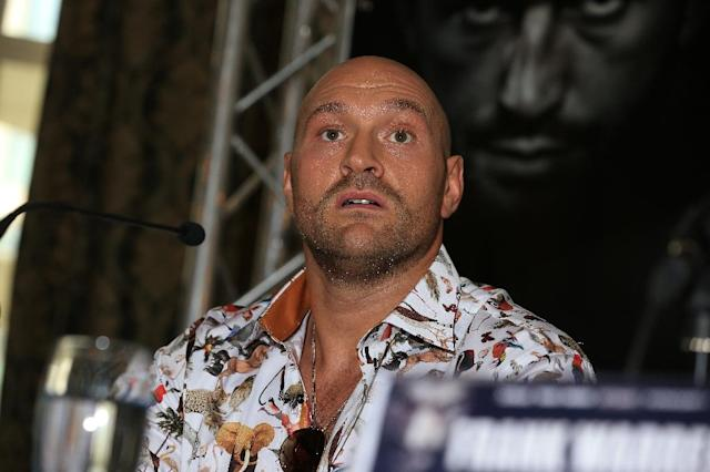 Tyson Fury is an unbeaten former world champion but hasn't fought in almost three years (AFP Photo/Lindsey Parnaby)