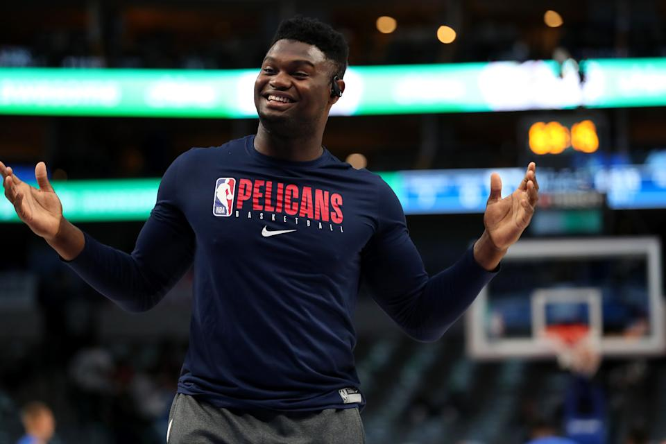 Zion Williamson has a prime opportunity to showcase his status as the NBA's next great force. (Tom Pennington/Getty Images)