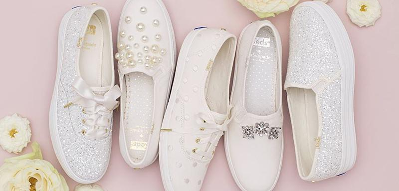 c1fdf062459 Kate Spade New York and Keds Made the Bridal Sneakers You ll Want to Wear  on ...