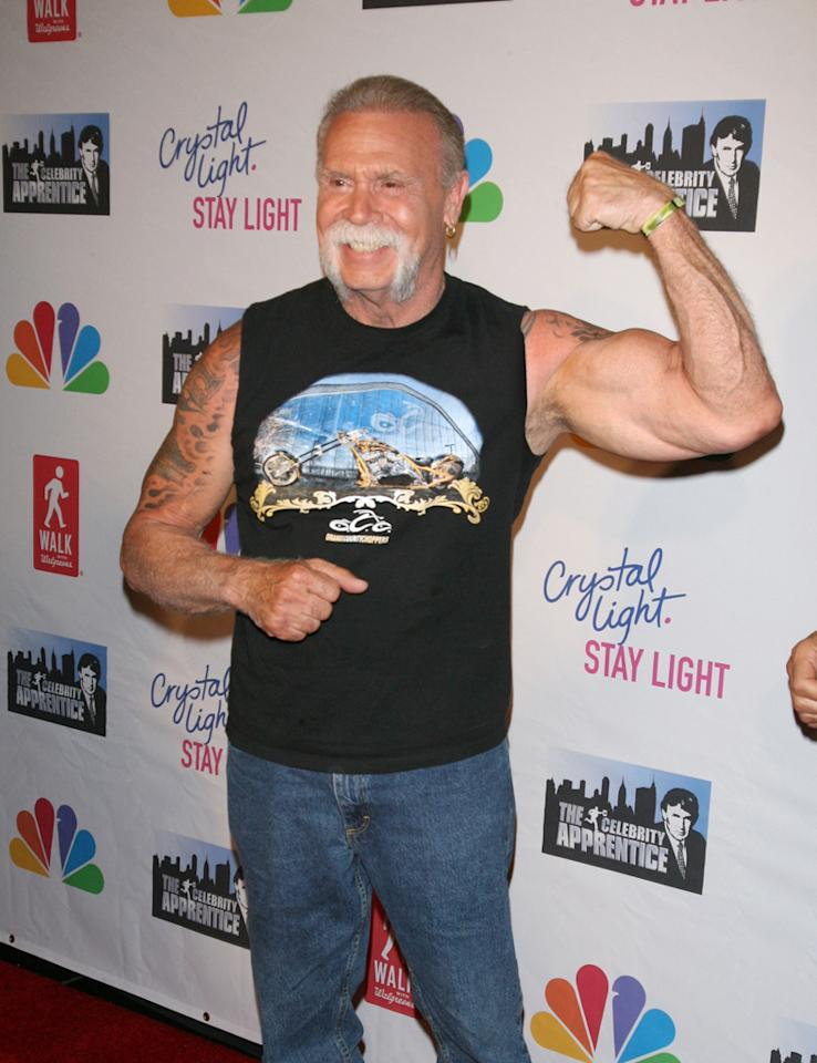 """Paul Teutul, Sr. attends the """"Celebrity Apprentice"""" Live Finale at American Museum of Natural History on May 20, 2012 in New York City."""