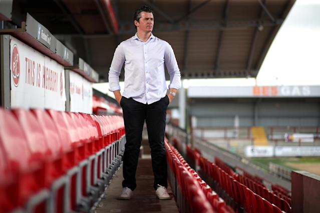 Joey Barton is expected to be a fiery manager on the touchline, given his playing days