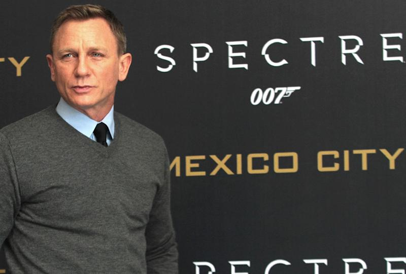 British actor Daniel Craig, shown here in Mexico City in 2015 at a release event for his last James Bond movie 'Spectre,' has confirmed he will play the super spy a fifth and final time