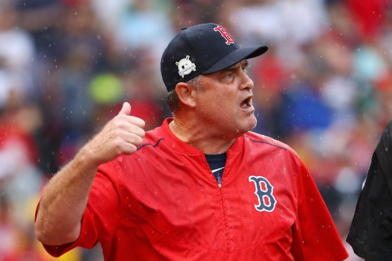 official photos c6753 2b406 Red Sox axe manager Farrell after playoff flop