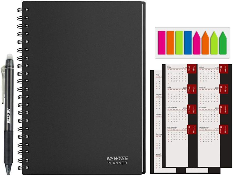 Newyes Reusable Planner Notebook