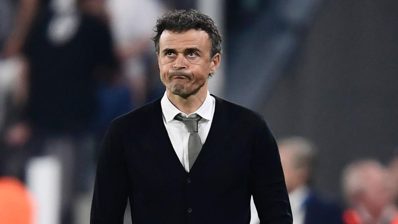 Luis Enrique Juventus Barcelona Champions League 11042017