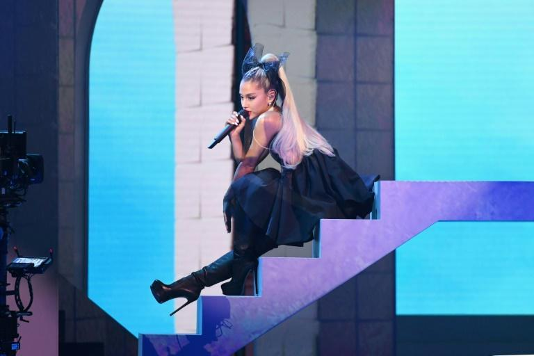 Ariana Grande, shown here performing during the 2018 Billboard Music Awards, is back in the limelight after releasing her sixth studio album