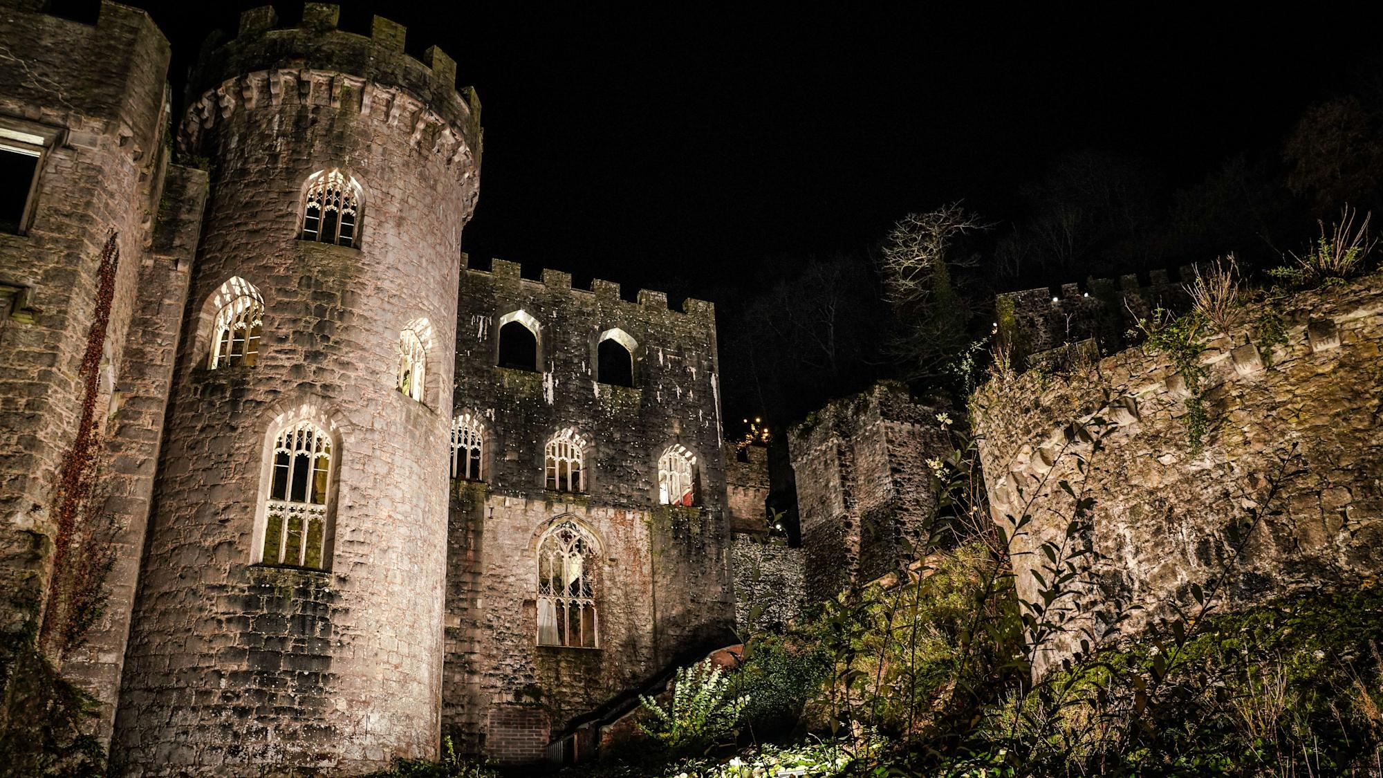 Welsh castle becomes campsite for the stars ahead of I'm A Celebrity